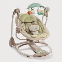 Детское кресло-качалка Bright Starts Божья коровка 60198