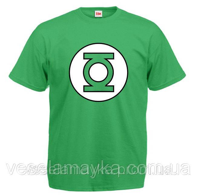футболка со знаком супергероя