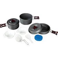 Набор посуды из анодированного алюминия Tramp TRC-024, фото 1