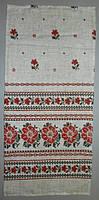 Льняное полотенце 35х75 см