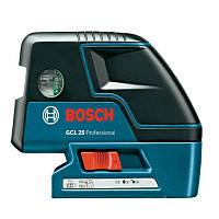 Комби-лазер (линейный + точечный) Bosch GCL 25, 0601066B00