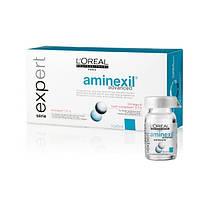 Ампулы против выпадения волос 10 шт х 6 мл - Aminexil advanced
