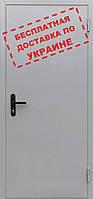 Двери противопожарные металлические глухие ДМП ЕІ30-1-2100х700 Евросервис (000015828)