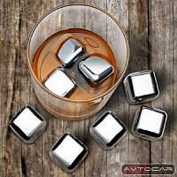 Набор блоков из нержавеющей стали для охлаждения напитков Remax ✓ 8 шт.