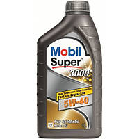 Масло моторное 5W40 Mobil SUPER 3000*1 1л (пр-во Mobil)