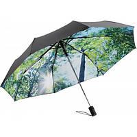 Зонт-мини Fare 5593 черный/лес