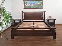 """Кровать из натурального дерева """"Робинзона"""" (190\200*150\160\180). Массив - сосна, ольха, дуб."""