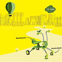 Каталка-прыгун Springo 2-в-1 Smart Trike зеленый