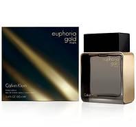 Calvin Klein Euphoria Gold Men Limited Edition туалетная вода 100 ml. (Кельвин Кляйн Эйфория Голд Мен Лимитед), фото 1