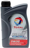 Масло моторное 5W30 TOTAL QUARTZ INEO LONG LIFE, ACEA C3 1л (пр-во TOTAL)