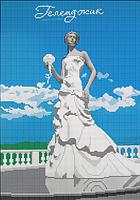 Схема для вышивки бисером Город-курорт. Геленджик КМР 3134