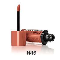 BJ Rouge Edition Velvet - Помада жидкая с матовым эффектом (16-абрикосовый), 7,7 мл
