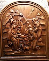 Панно резное Рождество Христово, фото 1