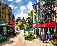 Картина по номерам Провинциальная улица GX6922
