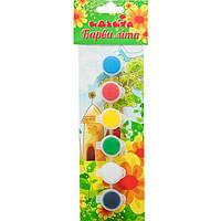 Набор акрила Краски лета 6 цветов, 2,5 мл