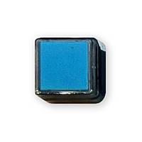 Штемпельная подушка светло-голубая 2,5x2,5 см.