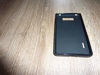 Силиконовый чехол накладка LG L7/P700/P705 черный