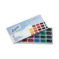 Набор акварельных красок Ладога, 24 цвета