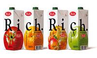 Сок Rich 1,0 L (в ассортименте)