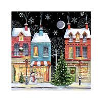 Декупажная салфетка Рождественское настроение 33*33 см