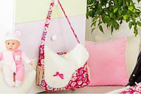 Сумка для коляски (Сумка для мамы) розовый