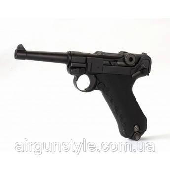 Пистолет пневматический KWC P-08 Luger Blowback [KMB41DHN]