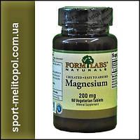 FL Chelated Magnesium 200 mg 60 tab