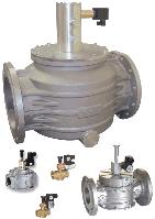 Электромагнитный клапан для природного газа MADAS (Italy) с ручным взводом затвора