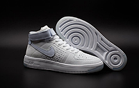 Кроссовки Nike Air Force 1 high Flyknit (white) - 27Z мужские