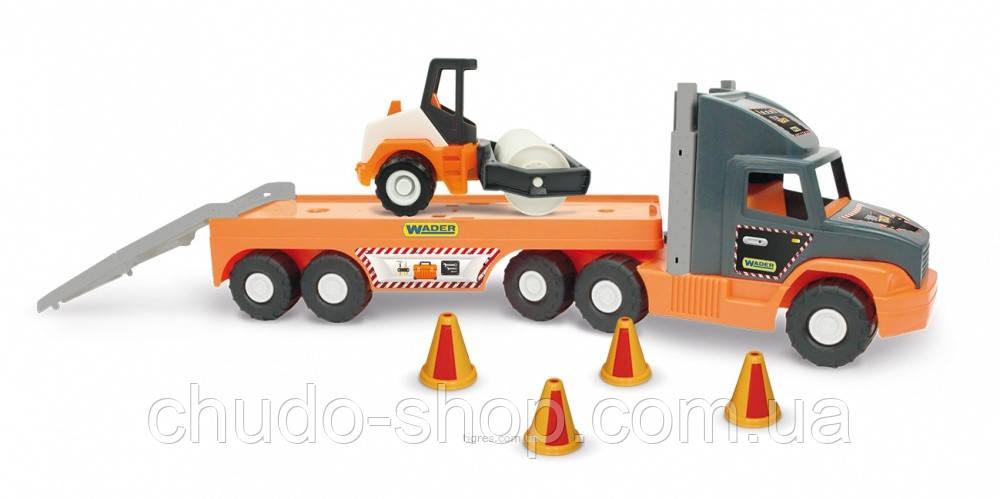 Super Tech Truck с катком 36740 Wader