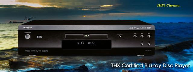 Integra BDS-50.3 Blu-ray Player HiFi Cinema