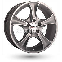 Литые диски Disla Luxury R15 W6.5 PCD4x108 ET35 DIA67.1 (black diamond)