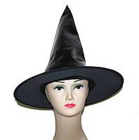 Колпак Ведьмы для праздника вечеринки мероприятия лакированый колпак