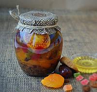 Мед фруктовый с цукатами и сухофруктами 500 г