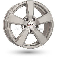 Литые диски Disla Formula R15 W6.5 PCD5x114.3 ET35 DIA72.6 (silver)