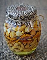 Мед с орешками 500 г