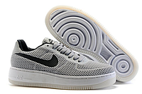 Кроссовки Nike Air Force 1 low (grey/black) - 38Z мужские