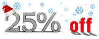 Акция -25% на  постельное белье Valtery сатин