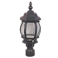 Светильник садовый  DELUX PALACE C03 60 E27 черный