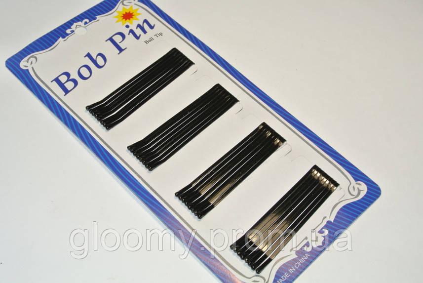 Невидимки для волос, черный, упаковка