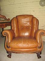 Итальянские мягкие кресла в стиле рококо.