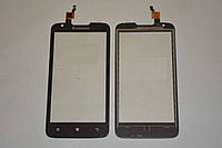 Оригинальный тачскрин / сенсор (сенсорное стекло) для Lenovo A680 (черный цвет, с камерой) + СКОТЧ В ПОДАРОК