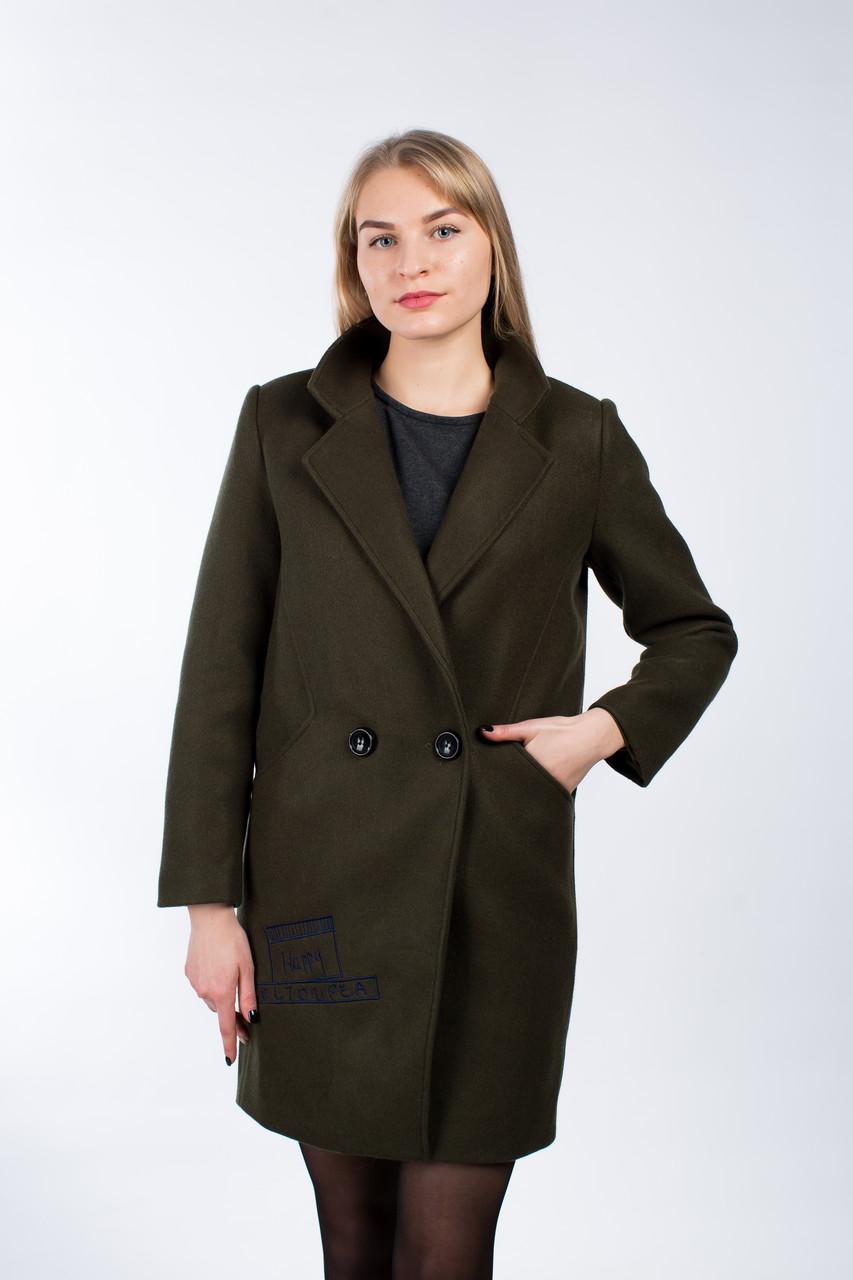 Молодежное женское пальто