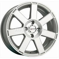 Литые диски Disla Hornet R15 W6.5 PCD4x108 ET25 DIA65.1 (silver)