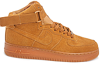 Кроссовки Nike Air Force 1 high suede (brown) - 60Z мужские