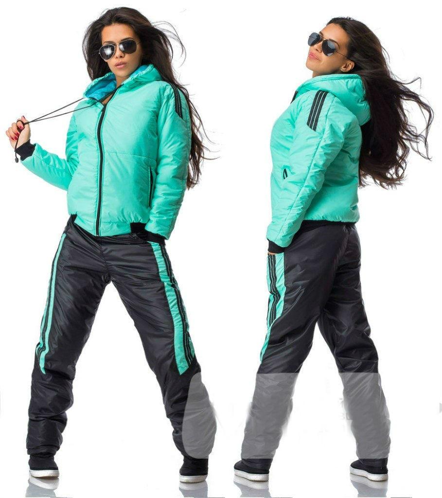 aa1f5f67 Зимний женский спортивный костюм с лаковым блеском: продажа, цена в ...