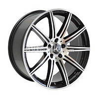 Литые диски Replica Mercedes (MR857) R18 W8 PCD5x112 ET38 DIA66.6 (MBL)
