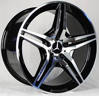 Литые диски Replica Mercedes (D5009) R17 W8 PCD5x112 ET35 DIA66.6 (MS)