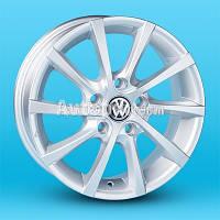 Литые диски Replica Volkswagen (JT1263) R15 W6 PCD5x112 ET40 DIA57.1 (silver)