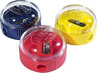 Точилка с контейнером 210K Ice пластиковая круглая KUM